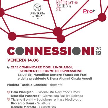 Connessioni 2019 – Comunicare Oggi. Linguaggi, Strumenti e Forme di Espressione