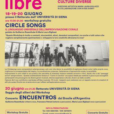 """Circle Songs"" – progetto Vocalibre"