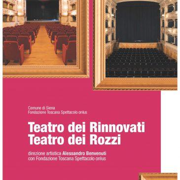 Al via la nuova stagione teatrale del Comune di Siena